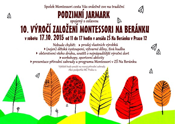Podzimni jarmark a 10let_plakat_01